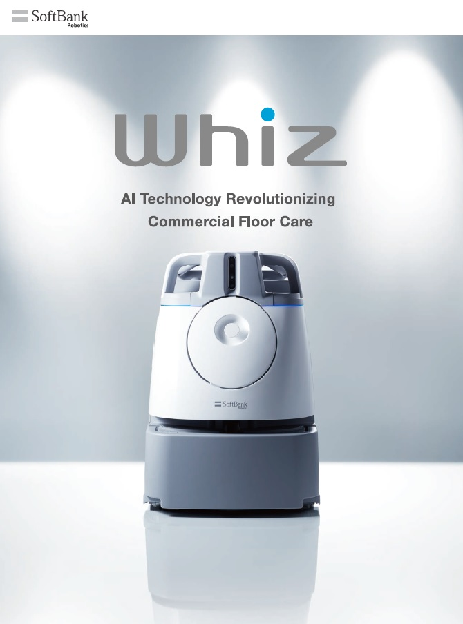 SoftBank Whiz Vacuum Cleaning Robot